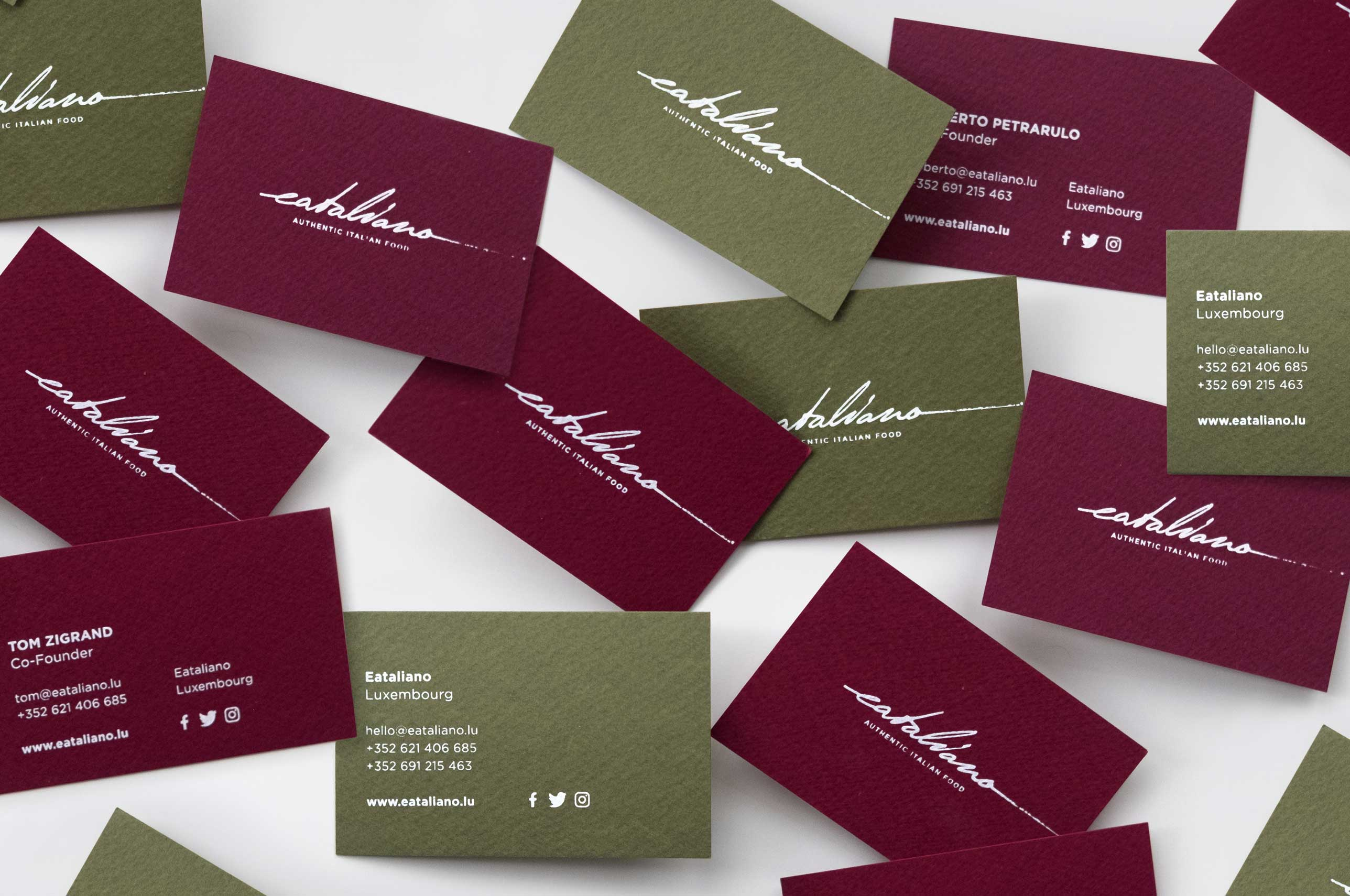 Eataliano Business Cards