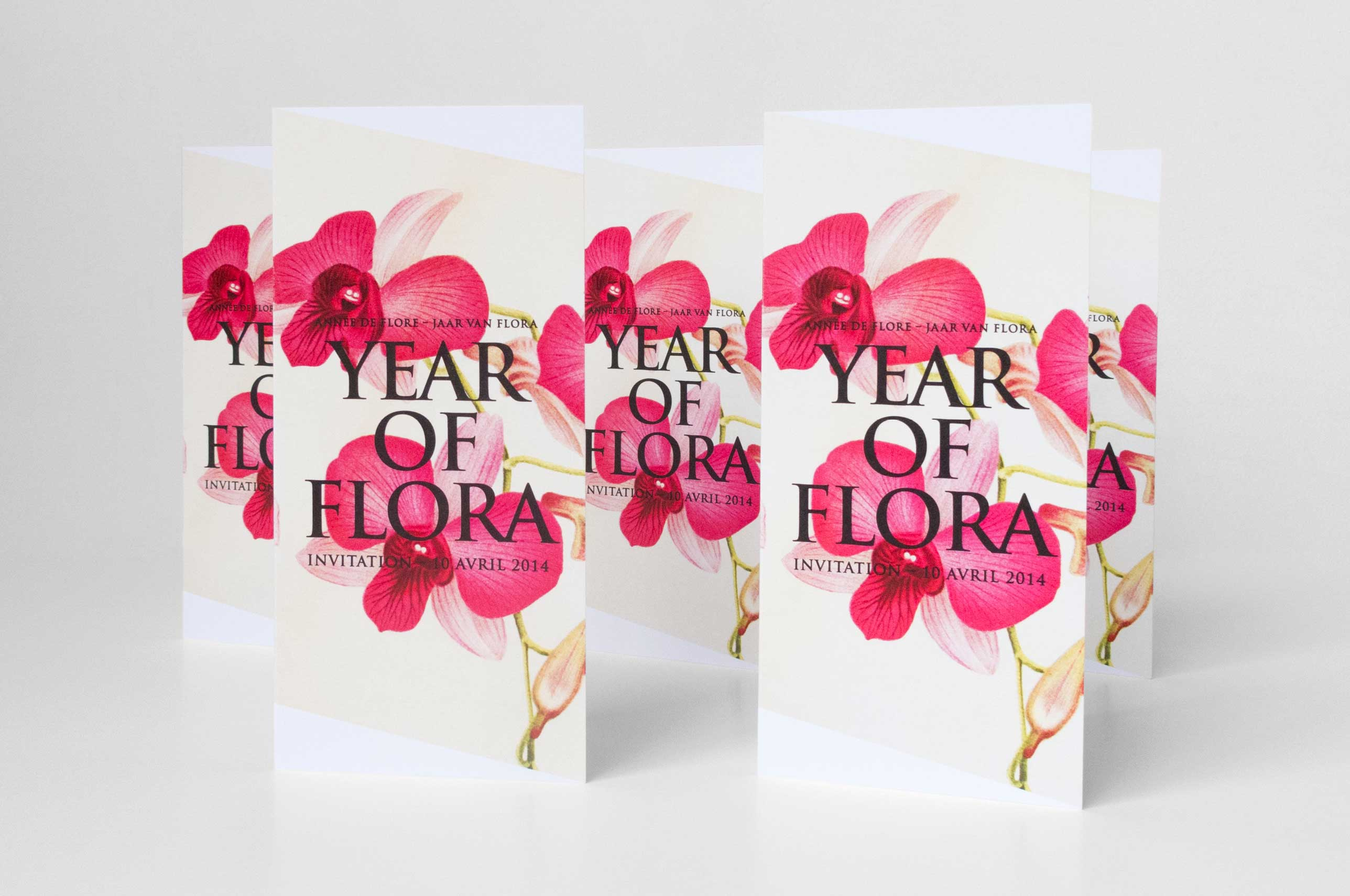 Year of Flora Invitation